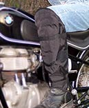 Spat Caps Half Chaps Motorcycle lower leg protection