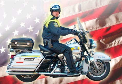 motorcycle police use colorado chaps